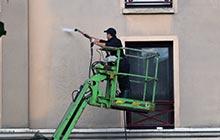 Nettoyage de façade à Feyzin